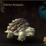 Albino Snapjaw