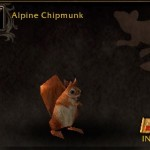 Alpine Chipmunk