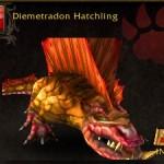 Diemetradon Hatchling