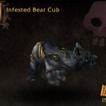 Infested Bear Cub