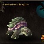 Leatherback Snapjaw
