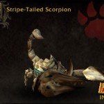 Stripe-tailed Scorpion